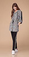 Спортивная одежда Svetlana Style-1246, серый+черный, 46