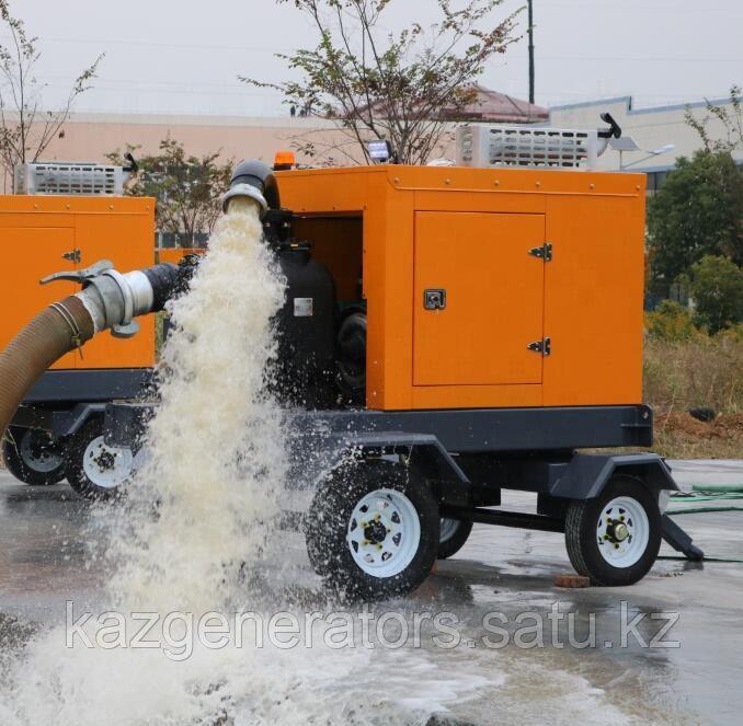 Мотопомпа дизельная  для грязной воды 23 кВт