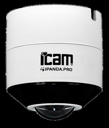 Панорамная уличная IP камера iPanda iCAM Hemispheric.1 5 Мп, фото 2