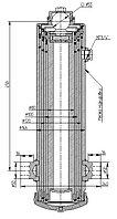 503А-8603510-03 Гидроцилиндр МАЗ МПП (3-шток, односторонний, Q=10 т)
