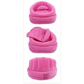 Надувное кресло Розовое с подушкой Intex 68563, фото 2