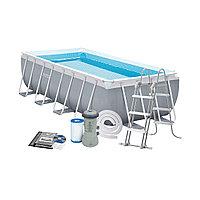 Каркасный бассейн прямоугольный Intex 488 см 244 см 107 см