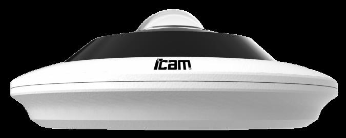 Панорамная уличная IP камера iPanda iCAM Hemispheric.2X 8 Мп, фото 2