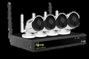 Комплект видеонаблюдения iPanda DIY SOHO 4/4