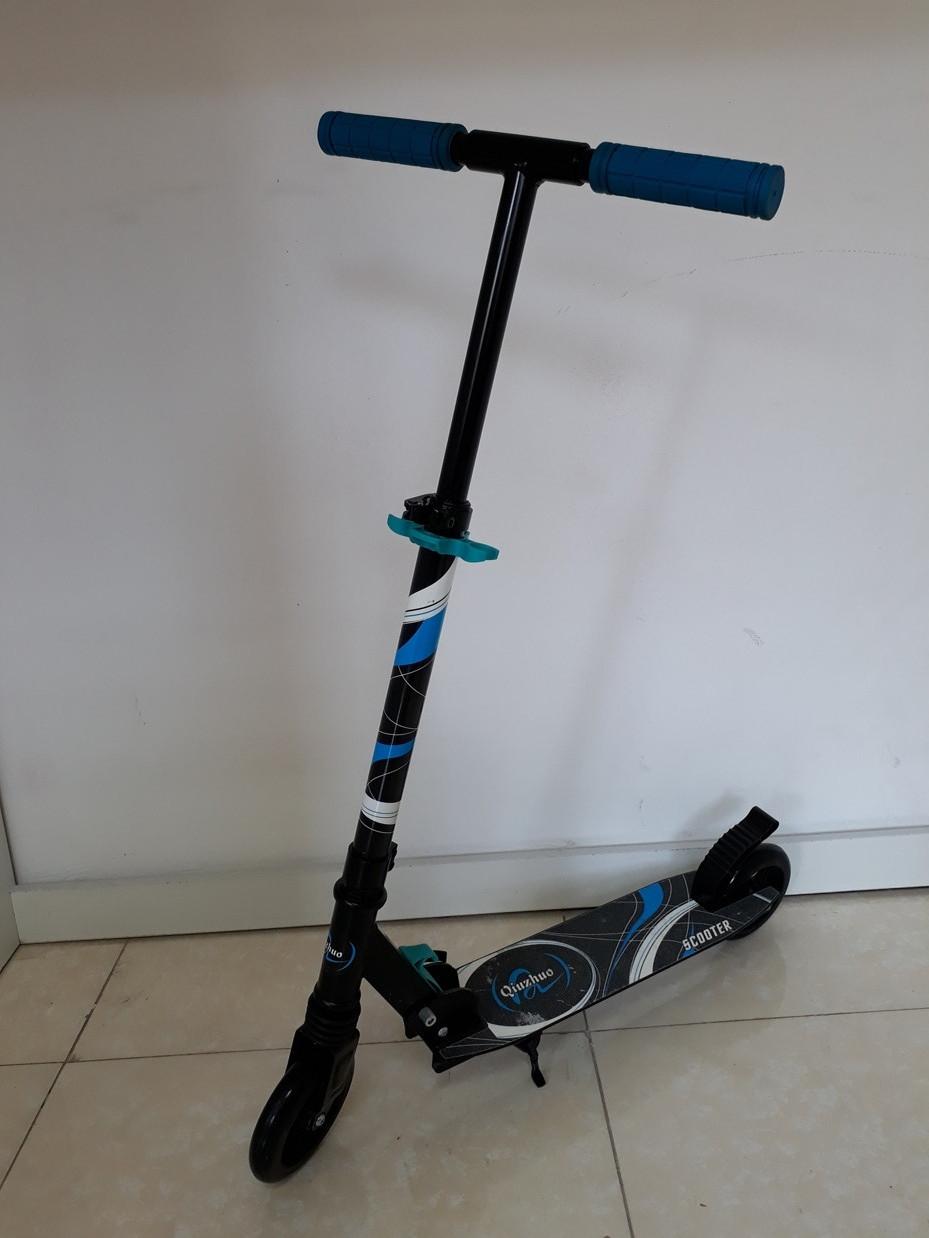 Складной двухколесный самокат Scooter