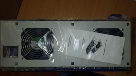 Вентиляторная панель, 2 x 12 см, цвет Серый