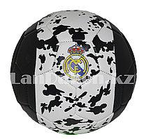 Футбольный мяч Real Madrid, бело-черный
