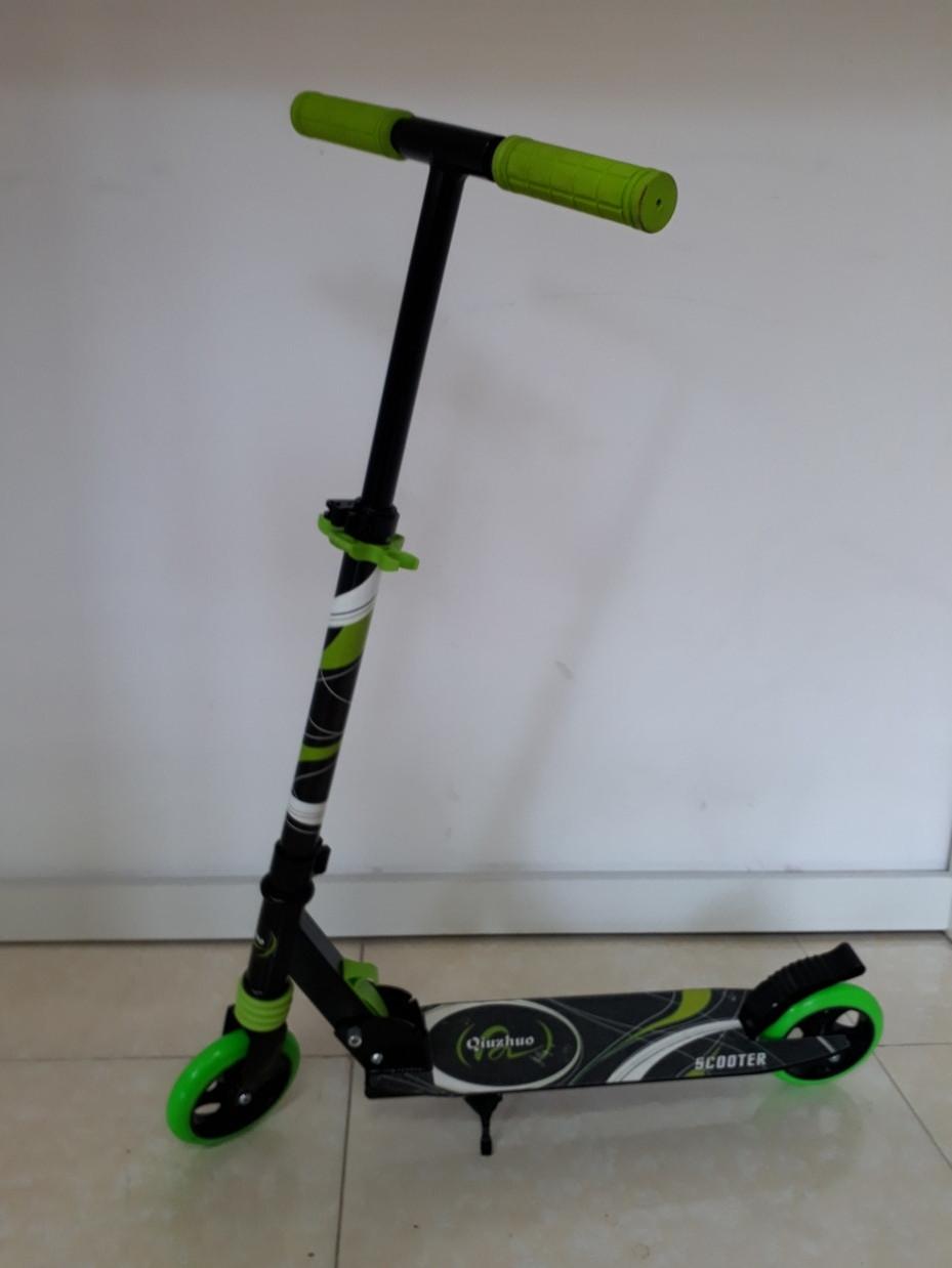 Складной двухколесный самокат Scooter для детей
