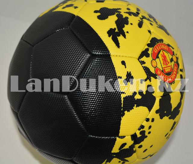 Футбольный мяч  Manchester United, желто-черный