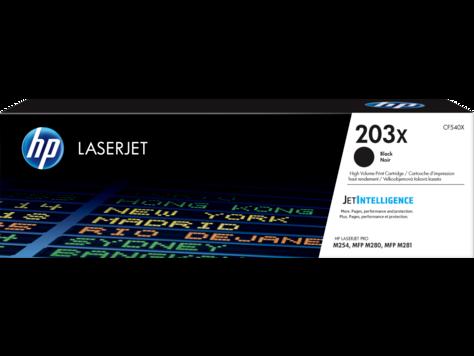 HP CF540X Картридж лазерный HP 203X, черный, ресурс 3200 стр