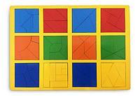 Сложи квадрат 3 уровень стандарт