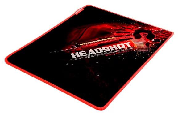 Коврик игровой Bloody B-072 Размер: 275 X 225 X 4 mm BLACK-RED