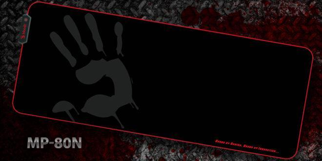 Коврик игровой RGB Bloody MP-80N Размер: 800х310х4.0 мм