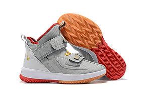 "Баскетбольные кроссовки Nike LeBron Soldier 13 ( XIII ) ""Gray"" From Lebron James"
