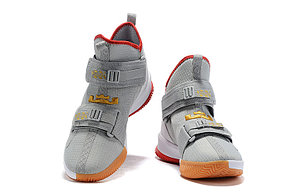 "Баскетбольные кроссовки Nike LeBron Soldier 13 ( XIII ) ""Gray"" From Lebron James , фото 2"