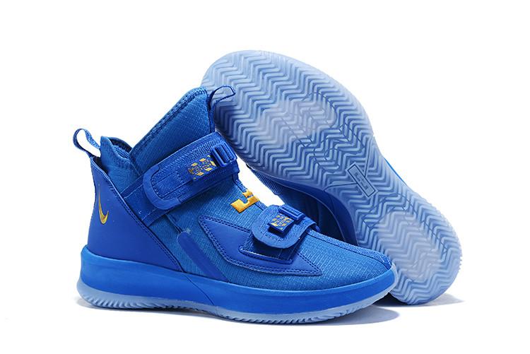 "Баскетбольные кроссовки Nike LeBron Soldier 13 ( XIII ) ""Blue"" From Lebron James"