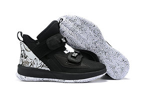 "Баскетбольные кроссовки Nike LeBron Soldier 13 ( XIII ) ""Black\White"" From Lebron James"