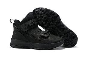 "Баскетбольные кроссовки Nike LeBron Soldier 13 ( XIII ) ""Triple Black"" From Lebron James"