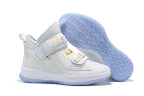 "Баскетбольные кроссовки Nike LeBron Soldier 13 ( XIII ) ""White"" From Lebron James"