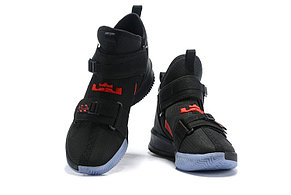"Баскетбольные кроссовки Nike LeBron Soldier 13 ( XIII ) ""Black\Red"" From Lebron James , фото 2"