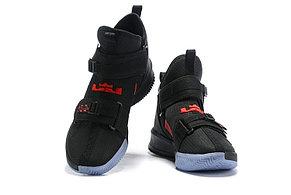 "Баскетбольные кроссовки Nike LeBron Soldier 13 ( XIII ) ""Black\Red"" From Lebron James , фото 2"