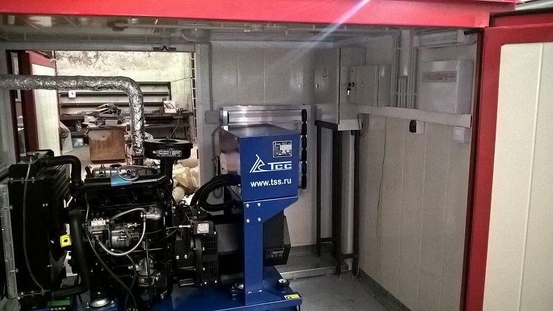 ДГУ, модульный здание компрессорной