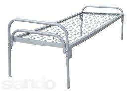 Кровать металлическая армейская