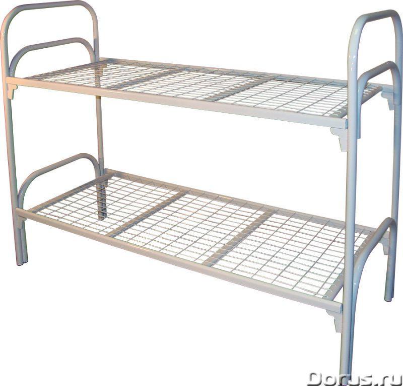 Армейские кровати двухъярусные для строителей