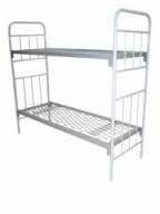 Металлическая кровать сеточного типа