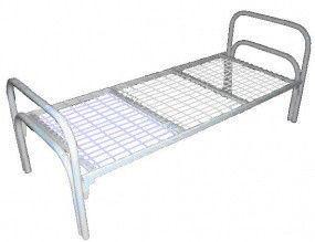 Кровать металлическая для эконом класса