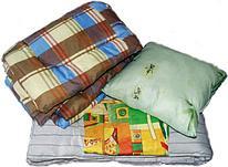 Комплект постельных принадлежностей для бригад рабочих и строителей (матрас 70х190 РВ, подушка 70х50, одеяло 1