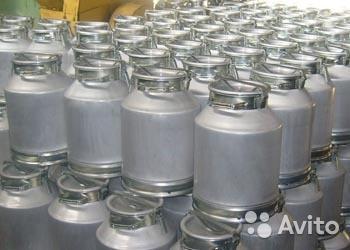 Фляга алюминиевая 40 л20л10л