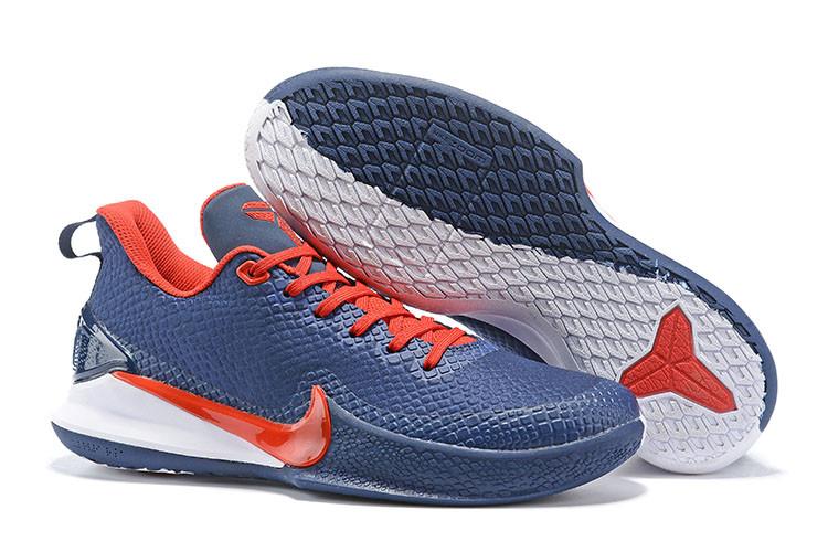 Баскетбольные кроссовки Nike Kobe Mamba Focus Blue