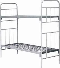 Металическая кровать двухъярусная