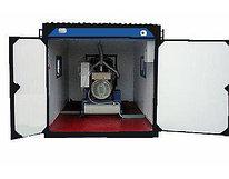 Блок контейнер из металлоконструкции- ДГУ