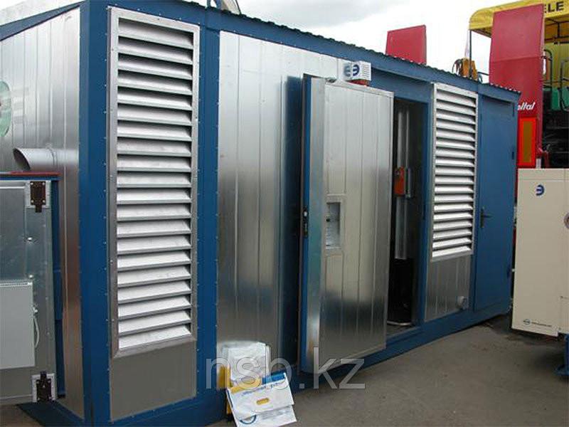 Блок-контейнер под ДГУ в Актау из 20 футового контейнера