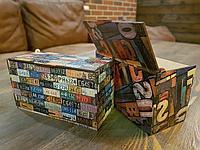 Коробки из фанеры с принтом, фото 1