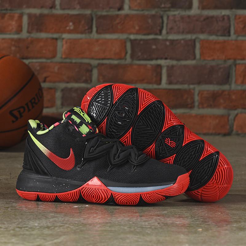 "Баскетбольные кроссовки Nike Kyrie (V) 5 "" Black/Red "" from Kyrie Irving"