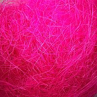Наполнитель сизаль ярко розовый, CANDY, фото 1