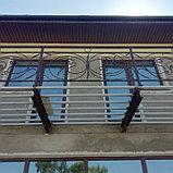 Перила металлические кованые, фото 3