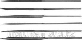 Набор DEXX: Надфили, улучшенная инструментальная сталь У10, 6шт