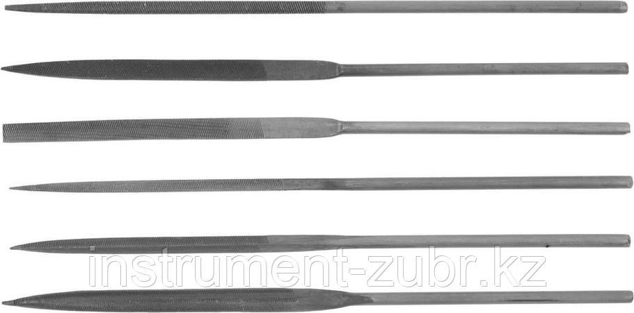Набор DEXX: Надфили, улучшенная инструментальная сталь У10, 6шт, фото 2