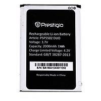 Заводской аккумулятор для Prestigio Muze A5 5502 Duo (PSP5502 DUO, 2000 mAh)