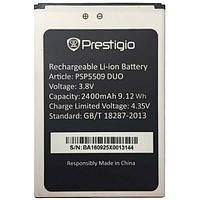 Заводской аккумулятор для Prestigio Muze K5 5509 Duo (PSP5509 DUO, 2400 mAh)