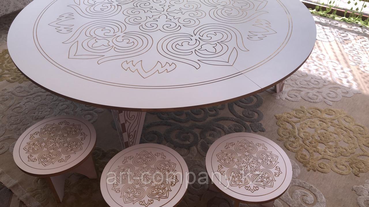 Казахский национальный круглый стол  Дөңгелек үстел