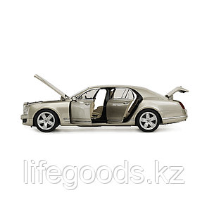 Металлическая машинка RASTAR 1:18 Bentley Mulsanne 43800Ch, фото 2