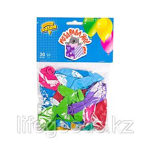 Воздушные шарики 1111-0033 (1111-0835) (30 шт. в пакете), фото 2