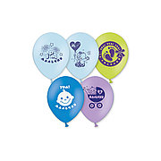 Воздушные шарики 1111-0413 (5 шт. в пакете)