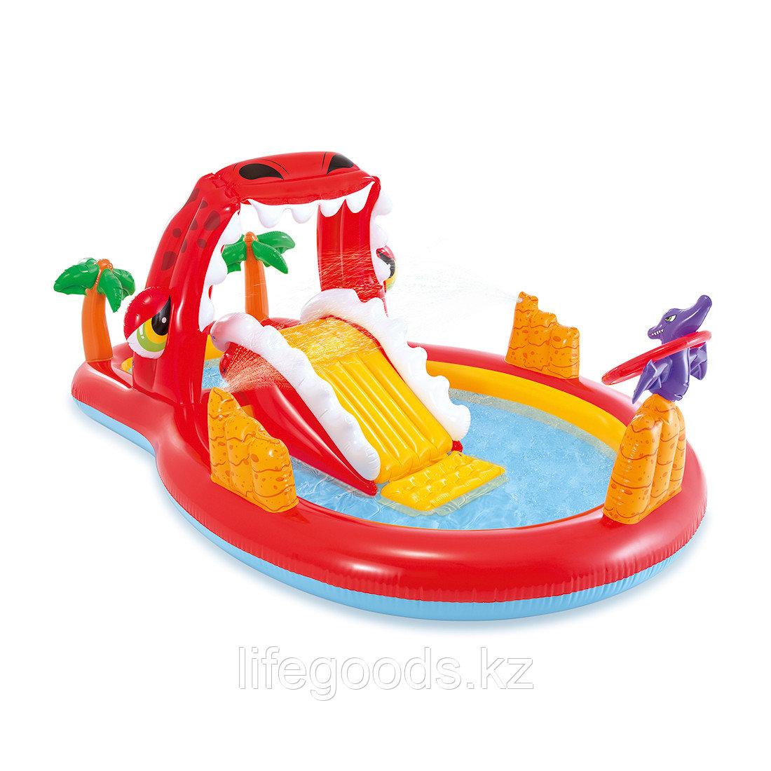 Детский надувной игровой бассейн 259х165 см Intex 57160NP