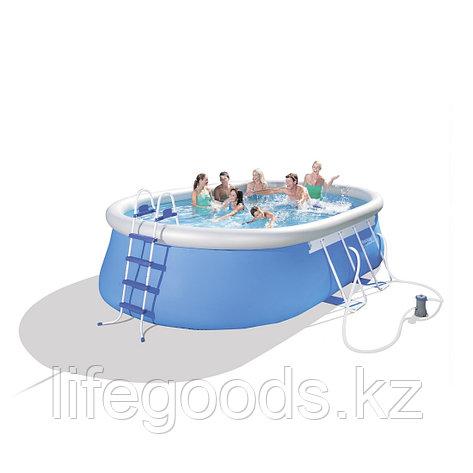 Надувной бассейн Fast Set 549х366х122 см Bestway 56461 (56153), фото 2